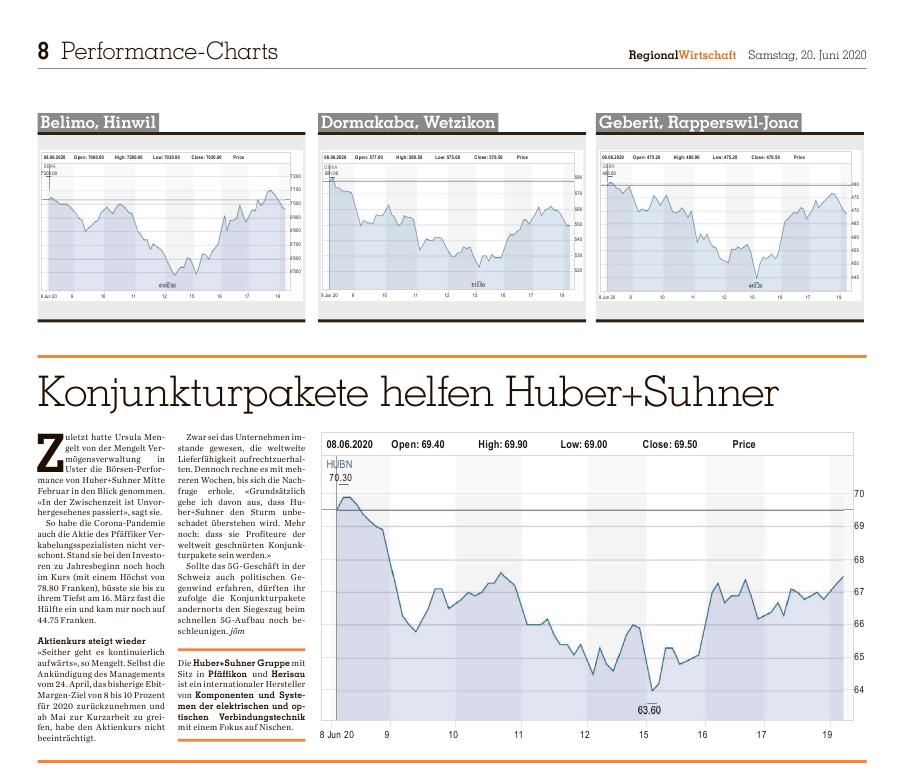 Zürich Oberland Basket Einschätzung Huber+Suhner